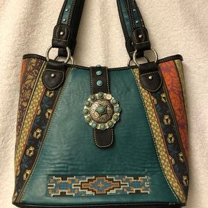 Montana West Concho collection Shoulder bag.